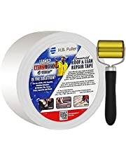 Eternabond Camper Roof Sealant Tape 4 inches by 50 feet with Seam Roller Included - Roof Leak Repair Kit for EPDM, TPO, and All Roof Types - Waterproof, Weatherproof, UV-Resistant