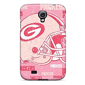 Premium Durable Green Bay Packers Fashion Galaxy S4 Protective Case Cover