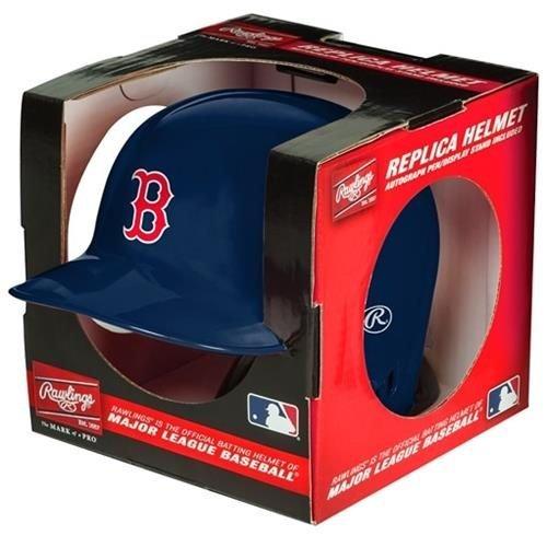 MLB Boston Red Sox Replica Mini Baseball Batting Helmet (Riddell Baseball)