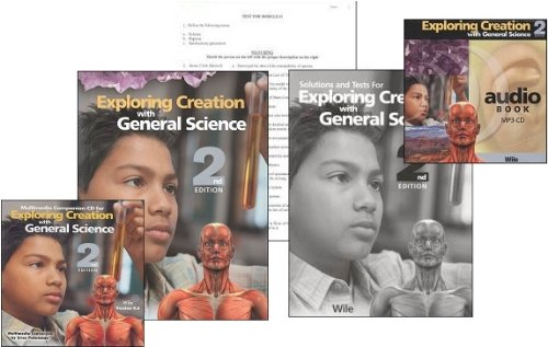 (Exploring Creation with General Science SET -- Text, Tests, Solutions, Companion CD and Audio CD (Exploring Creation))