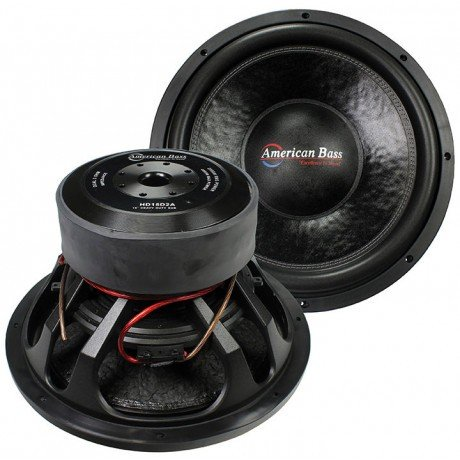 American Bass Hd15d2 15 3000w Car Audio Subwoofer Sub 3000 Watt by American Bass