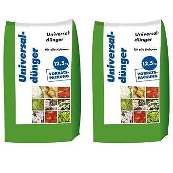 Berühmt 25 kg Universaldünger NPK 8-4-5 Gartendünger organisch &EX_21
