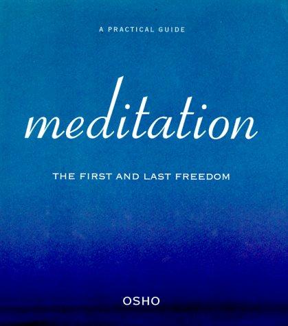 Book on meditation by osho