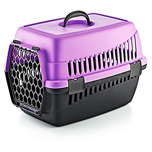 Furany Transportbox für Haustiere | Tragebox für Hunde und Katzen