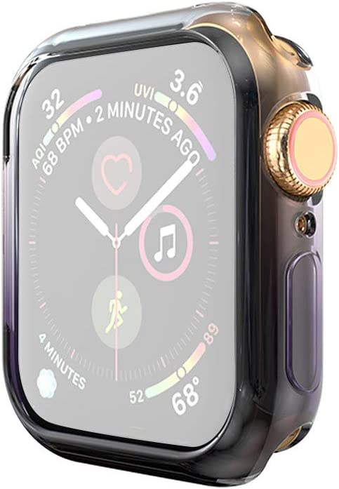 Amazon.com: Shan-S Clear Case for Apple Watch Series 4 40mm ...