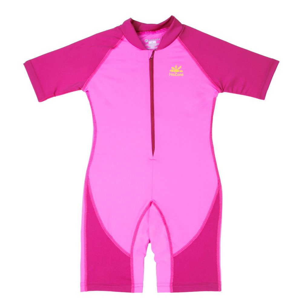Nozone Kids Ultimate One-Piece Sun Protective Swimsuit in Bahama/Fuchsia, 2 509ARN2