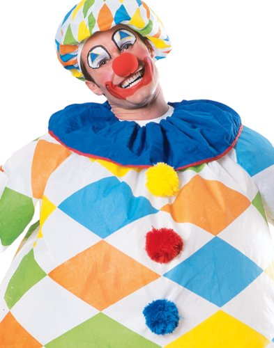 Rubie's Unisex-Adult's Inflatable Clown Costume, As As