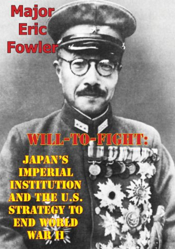 Will-To-Fight: Japan's Imperial Institution And The for sale  Delivered anywhere in USA