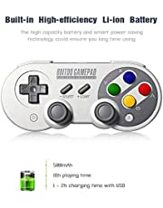 Buymall Wireless Bluetooth 8Bitdo SF30 Pro Controller with Joystick for Android Nintendo Switch Windows macOS Steam