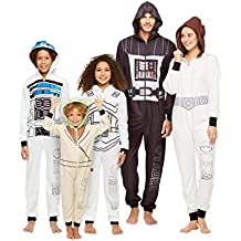 Star Wars Family Pajamas, Blanket Sleeper Onesie with Hood and Pillow Case, by Jammin Jammies