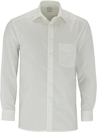 Camisa para Hombre Olimpo 1/1 Brazo de Crema en Tallas Grandes para el XXL de Hombre, 50 gr: Amazon.es: Ropa y accesorios