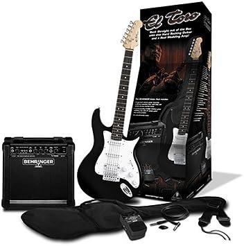 Behringer Conjunto DE Guitarra Toro Guitar Pack Negro: Amazon.es ...