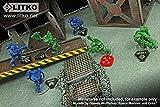 LITKO Combat Token Set Compatible with