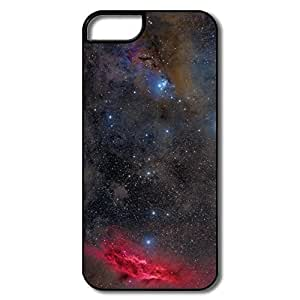 IPhone 5S Cases, Pink Nebula Cases For IPhone 5 - White/black Hard Plastic