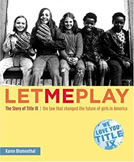 Getting in the Game: Title IX and the Women's Sports Revolution (Critical  America, 51): Brake, Deborah L.: 9780814799659: Amazon.com: Books