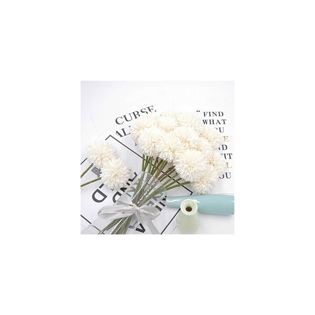 Plastic Home Decor Artificial Flower Chrysanthemum Daisy Funeral Bouquet
