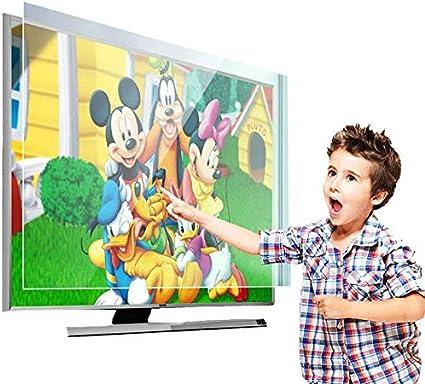 DPPAN Anti Luz Azul TV Protector De Pantalla Durante 70 Pulgadas TV Bloque Nocivo Blue-Ray Y Proteja Sus Ojos, Se Adapta a LCD, HDTV, Monitores Y Pantallas,70 Inch: Amazon.es: Hogar