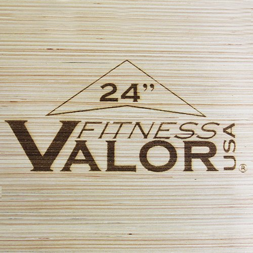 Valor Fitness Plyo Jump Box, 20 x 24 x 30'' by Valor Fitness