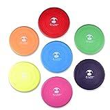 K Line Pet Supplies Dog Frisbee Dog Flying Disc 4 Pack