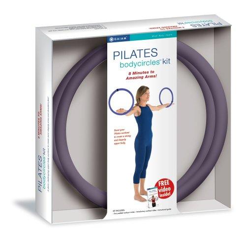 Gaiam Pilates Body Circles Kit (Purple)