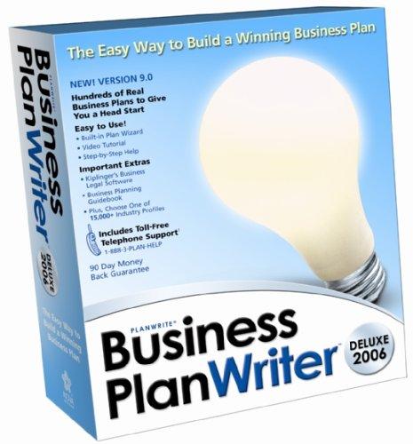 Nova Business Plan Writer Deluxe 2006 (Business Plan Writer)