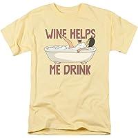 Popfunk Bob's Burgers Wine Helps Me Drink T Shirt &