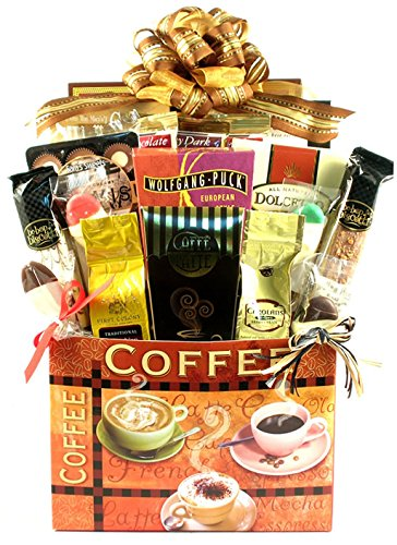 Deluxe Coffee Lovers Gift Basket