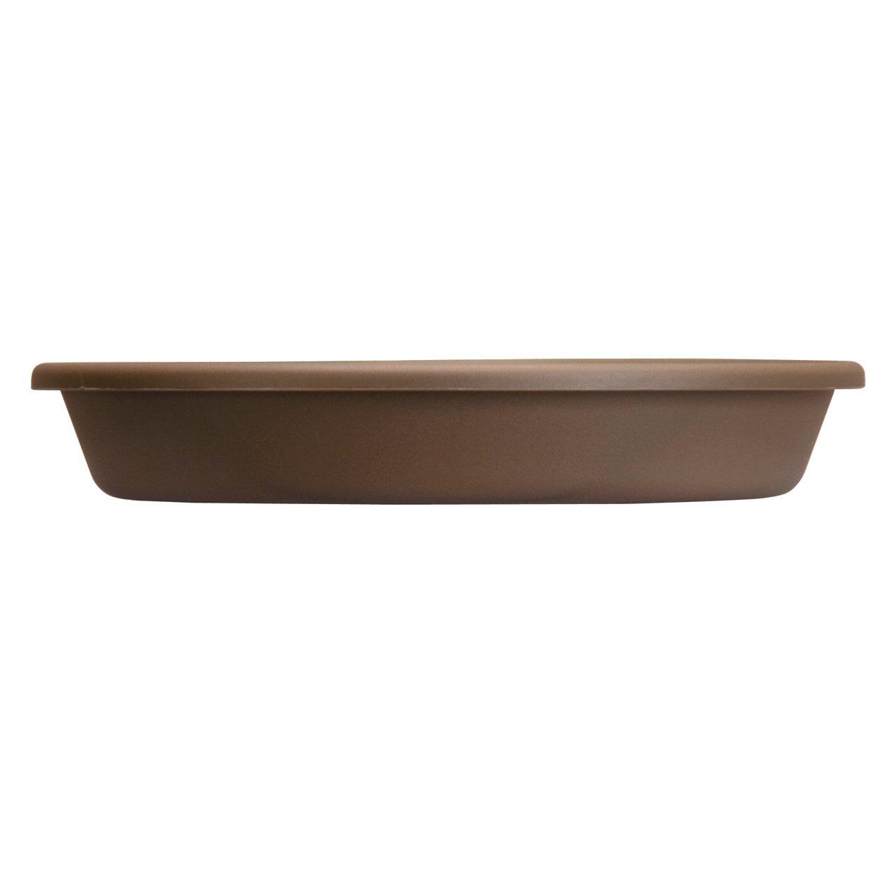 Akro Mils SLI12000E21 Classic Saucer for 12-Inch Classic Pot, Chocolate, 12.5-Inch