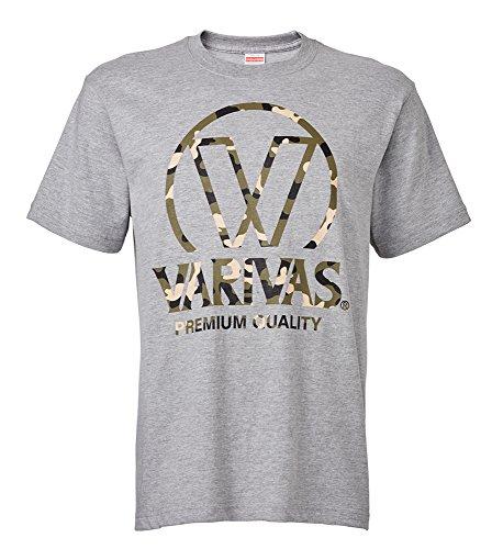 모리스(MORRIS) 바리바스 VARIVAS T셔츠 VAT-41 L 그레이.