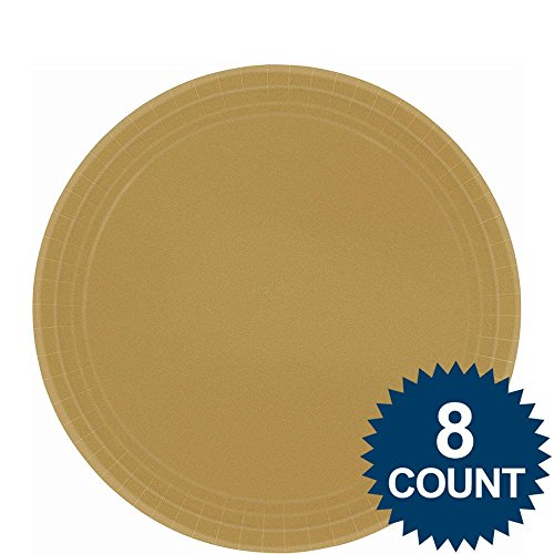 Gold Paper Plates | 9