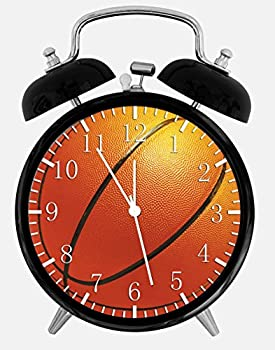 "New Basketball Alarm Desk Clock 3.75"" Room Decor X32 Will Be a Nice Gift"