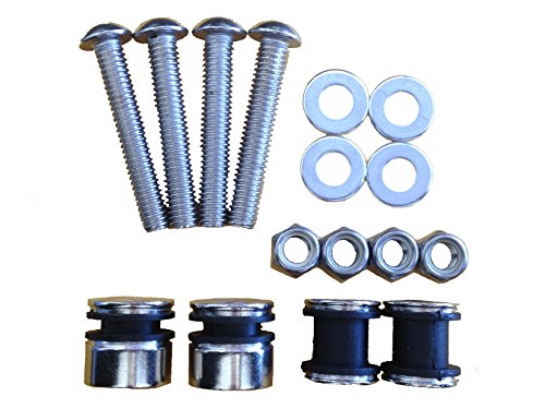 Deluxe Harley Davidson - 4-Point Docking Hardware Kit for Harley Davidson Softail Deluxe Fat Boy Heritage Standard Springer Custom Night Train
