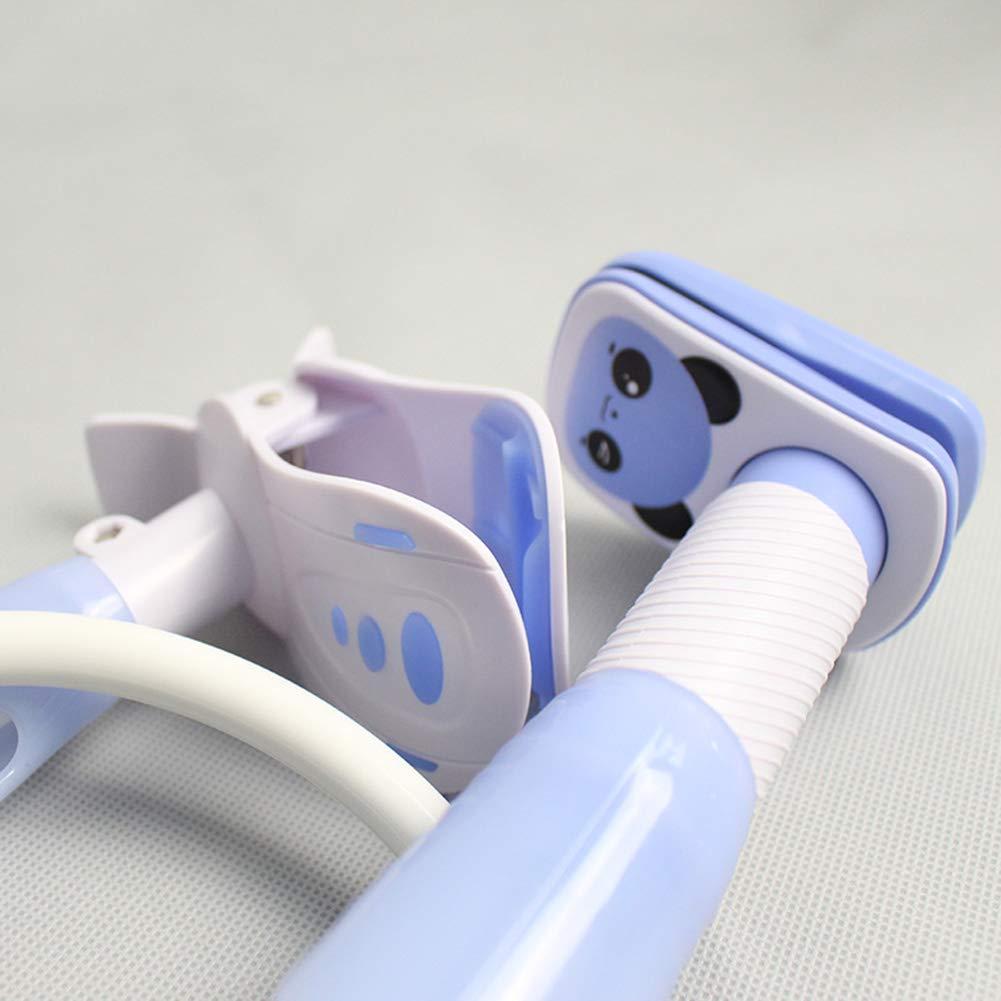 xnbnsj Soporte para biberones 95 cm azul