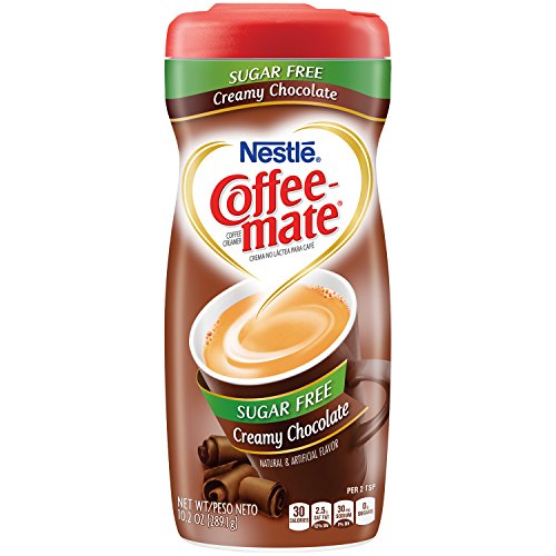 (Coffee-mate Sugar Free Creamy Chocolate Powdered Coffee Creamer, 10.2 Ounce)