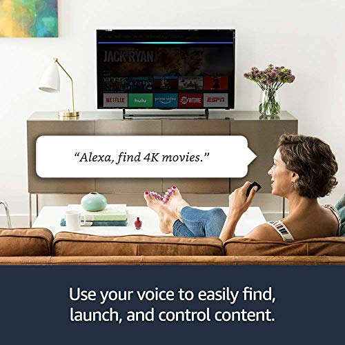 Certified Refurbished Fire TV Stick 4K with Alexa Voice Remote streaming media player