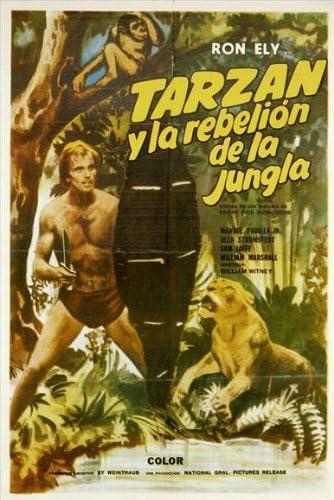Tarzans Jungle Rebellion Póster de película española 11 x 17 ...