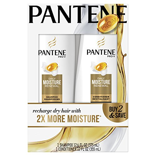 Pantene Pro-V Daily Moisture Renewal Hydrating Shampoo and C