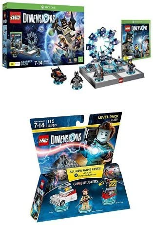LEGO - Starter Pack Dimensions (Xbox One) + Level pack: Los ...