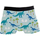 BETTKEN Mens Boxer Briefs Animal Unicorn Rainbow Stripe Short Underwear Soft Stretch Underpants for Men Boys S-XL