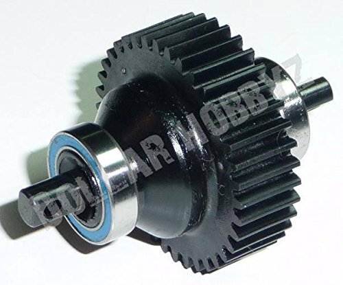 Traxxas Jato 3.3 REAR DIFFERENTIAL w/ 38T DRIVE, OUTPUT & SPIDER GEARS Shaft