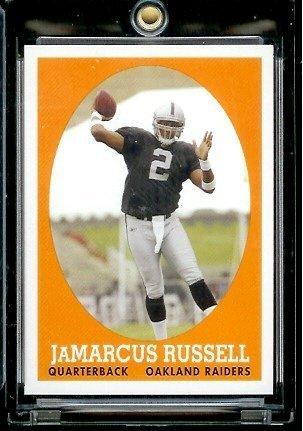 2007 Topps #7 JaMarcus Russell Oakland Raiders