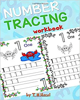 Children's Book: TRACE NUMBERS (Numbers Tracing Workbook for ...
