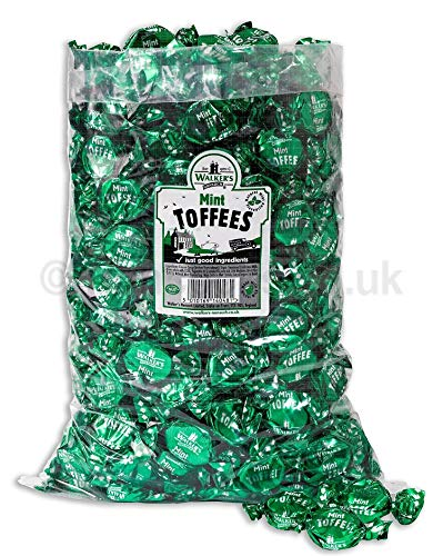 Walker's Nonsuch Mint Toffees 2500gram by Walkers