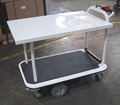 Electro-Kinetic-Technologies-Pony-Express-Motorized-Platform-Truck-1500-lb-capacity-2-shelving-units-26-wide-x-40-long-MPCS-264015