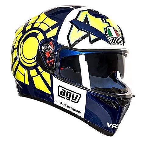 AGV K3 SV Rossi Invierno Prueba para casco de moto talla M-L ...