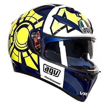 AGV K3 SV Rossi Invierno Prueba para casco de moto talla M-L