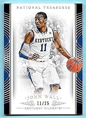 2015 Treasures Multisport Silver #62 John Wall #11/25 HIS KENTUCKY JERSEY NUMBER