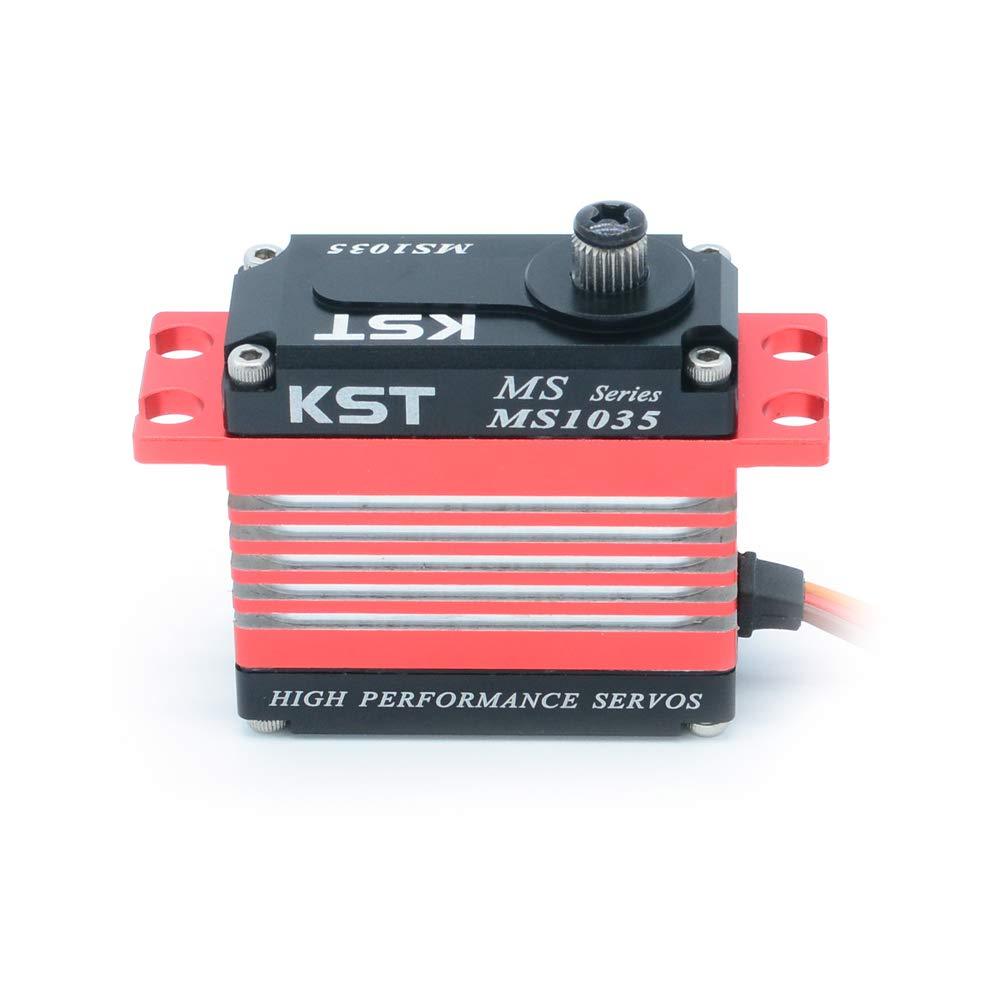KST MS565 8.4V 6.5kg HV Coreless Metal Gear Digital Servo Motor for Drone UAV Helicopter RC Car Boat Robot Airplane RC Toys