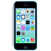 Apple iPhone 5C 8GB Factory Unlocked GSM Cell Phone - Blue