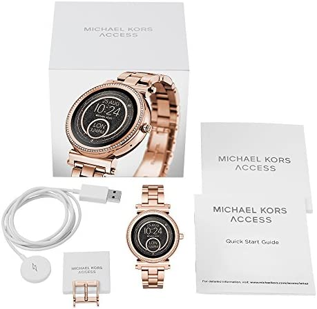 Michael Kors Access Gen 3 Sofie Touchscreen Smartwatch Powered with Wear OS by means of Google